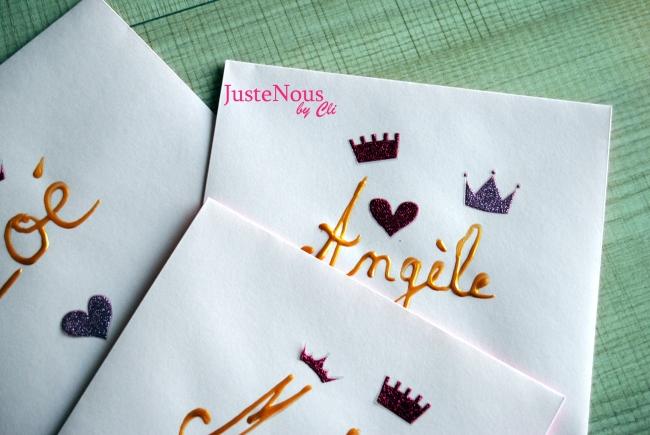 enveloppes princesses